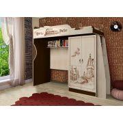 Детская кровать-чердак ГП-4/1 мебель Гарри Поттер