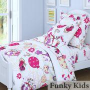 Комплект 1.5 спального постельного белья Птички-Дрим