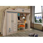 Детская мебель Капитан - чердак кровать КП-4