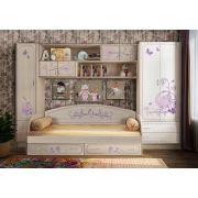 Качественная детская мебель Фанки Лилак - готовая комната 1