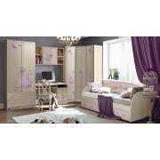 Стильная и функциональная мебель Фанки Лилак - готовая комната 2