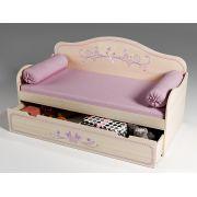 Детская низкая кровать Фанки Кидз Лилак, арт. 40021