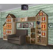Фанки Кидз Домик - готовая детская комната для сна и отдыха