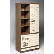 Пенал ПР-03 + стеллаж ПР-02 мебель Пираты