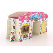 Кровать-чердак для детей КЧ-8 (2) Замок Принцессы