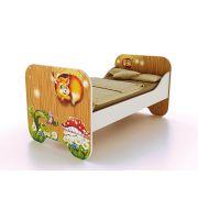Одноярусная кровать КР-6 Лесная Сказка, спальное место 190*80 см