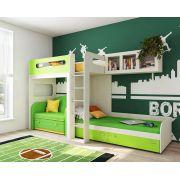 Детская мебель Фанки Кидз и раскладной диван Бланес 2