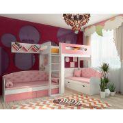 Детская мебель Фанки Кидз для троих детей