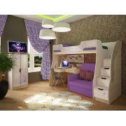 Мебель для детей Фанки Кидз Лилак - готовая комната 5