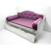 Кровать Синдерелла с мягкой спинкой